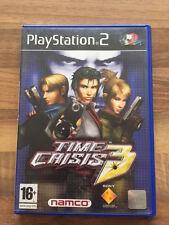 PS2:    TIME CRISIS 3    PAL
