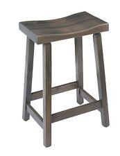 Urban Maple Wood Stool in Counter and Bar Height - Multiple Stain Options