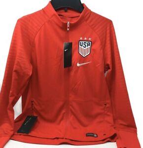 NIKE Unisex Youth USA Soccer Full Zip Warm Up Jacket/ Sweatshirt Size L, XL
