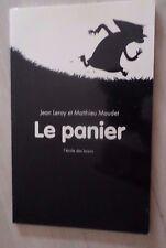 Livre  Le Panier Jean Leroy - Mathieu Maudet Ecole des loisirs