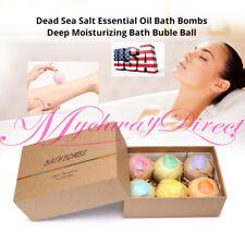 Bath-Bombs Bubble Bath Salts Essential Oil Handmade Spa Stress Relief Us Stock