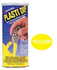 Yellow 14.5oz Performix PLASTI DIP Plastic Multi Rubber Grip Coating Handle Tool
