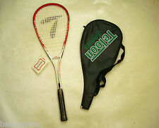 NEW!!! TELOON MEN'S WOMEN'S ADULT ALLOY SQUASH RACQUET & COVER