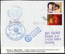 "Antarctic""BELGIUM""2009, ""BELATMOS"",3 Cachets+Signature, look Scan !! 6.11-32"