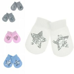 Baby Sequin Mittens Anti scratch Baby Gloves