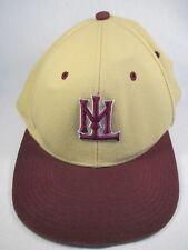 Walleyes Beige Fitted 7 1/4 Baseball Cap Hat