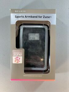 Zune Sports Armband - Belkin, Black & Grey Neoprene 80/120 GB