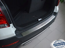 Chevrolet CAPTIVA FL 2013- Rear Bumper Profiled Protector Stainless Steel Cover