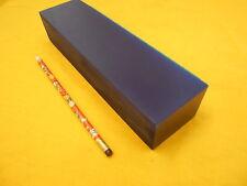 BLUE POLYURETHANE BAR plastic sheet flat stock 1 15/16