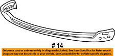 FORD OEM F-250 Super Duty-Bumper Spoiler-Valance Panel Lip Chin 3C3Z17626AAA