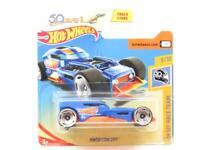 Hotwheels HW50 Concept HW50 Raceteam Blue Short Card 1 64 Scale Sealed