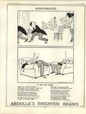 1922 HM Bateman Werbung Miss ULA PHARON Sara Probe