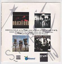 "ROCK & FOLK FNAC STAR T N°3 Disque 45T 7"" EP ROACHFORD CUDDLY TOY -COWBOY J RARE"