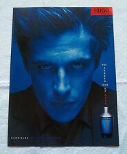 A388-Advertising Pubblicità-2000-DARK BLUE - UGO BOSS - PROFUMI