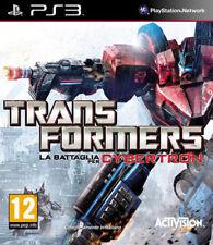 Videogame Transformers - La Battaglia per Cybertron PS3