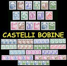 Castelli d'Italia singoli e quartine Bobine Macchinette Distributori Automatici