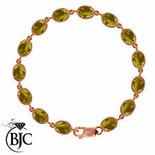 Citrine Tennis Fine Bracelets