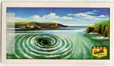 A Whirlpool Is Opposing Currents Of Swirling Water Vintage Ad Trade Card