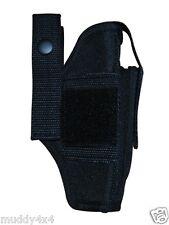Belt Gun Holster  fits Walther Sig Makarov Bersa Colt Beretta 380 s  TG260B12