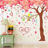 Giant Huge Pink Cherry Tree Wall Decals Sticker Peel Kids Girls Bedroom Large