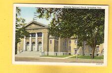 Springfield,TN Tennessee Methodist Episcopal Church used 1952