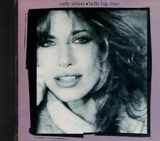 CARLY SIMON Hello Big Man RARE WEST GERMAN Red on Grey Target CD 9 23886-2