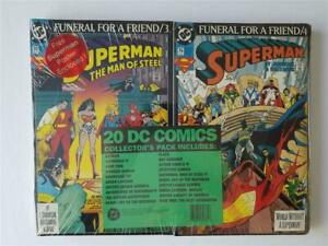 "20 DC Comics Collector's Pack ""Funeral for a Friend"" Superman and more 1993"