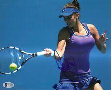 Julia Goerges SEXY Tennis Signed Auto 8x10 PHOTO Beckett BAS COA