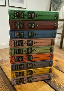 1918 Collier's Junior Classics The Young Folks Shelf of Books Volumes 2-10