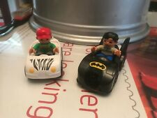Lego Duplo Joblot Batmobile Zoo Safari Car With two Figures