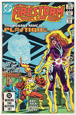 Fury of FIRESTORM #7 Flash CW TV Show VF+ 1st Appearance PLASTIQUE Arrow DC 1982