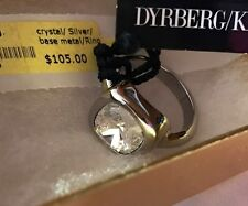 Dyrberg Kern Geomi Collection Ring Size 8