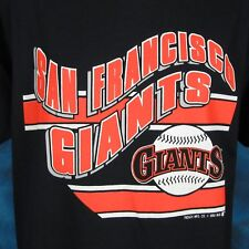 NWT vintage 80s SAN FRANCISCO GIANTS T-Shirt M/L california baseball mlb thin