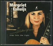 MARGRIET ESHUIJS Step Into The Light LIVE CD ALBUM SIGNED maarten peters LUCIFER