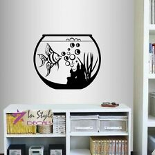 Vinyl Decal Fish Tank Aquarium Kids Nursery Any Room Mural Wall Sticker 472