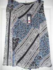 Calf Length Chiffon Plus Size Flippy, Full Skirts for Women