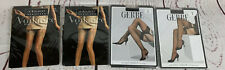 Gerbe Paris Le Bourget  Thigh High Stockings Pantyhose Lot Of  4  New