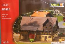 Faller 130548, Spur H0,  Bausatz (Kunststoff) Biohof, patiniert / organic farm
