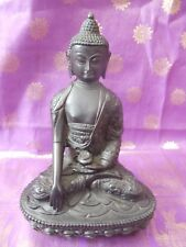 Medicine Buddha Ornament Statue 19cm Tall Bhaisajyaguru Fair Trade Handmade Gift