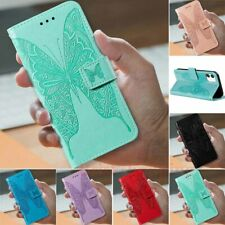 For iPhone 11 Pro Max XS XR 7 8 Plus SE2 Embossed Wallet Flip Leather Case Cover
