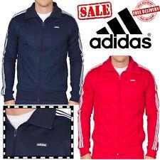 adidas Original Beckenbauer 3 Stripe Track Jackets Full Zip Sports Tops On Sale