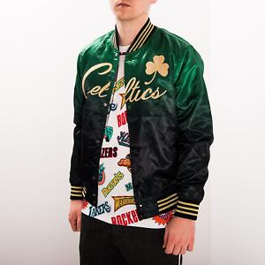 Mitchell & Ness Black NBA Boston Celtics Chinese New Year Satin Jacket