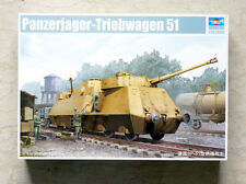 TRUMPETER 01516 KIT 1/35 German Panzerjager-Triebwagen 51 ,NEW NUE