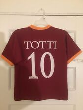 Roma ASR Football Jersey Shirt Used See Photos Small See Details