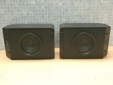 BOSE 201 SERIES IV WALL MOUNT OR BOOKSHELF LOUDSPEAKERS (MATCHED LEFT & RIGHT)