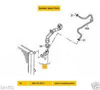 NEW GENUINE VW QUICK RELEASE RADIATOR HOSE COUPLING 6Q0122291E