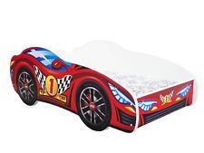 CHILDRENS BED TODDLER KIDS RACING CAR BED + FREE MATTRESS 140x70 *6 DESIGNS*