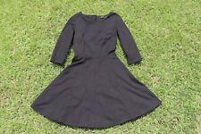 Portmans Little Black Dress, 3/4 Sleeve, Size 8