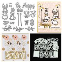 Christmas Flower Animal Metal Cutting Die Scrapbook Stencil Embossing Card DIY