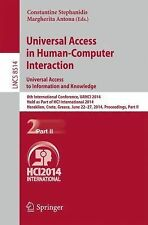 Universal Access in Human-Computer Interaction Part II LNCS8514